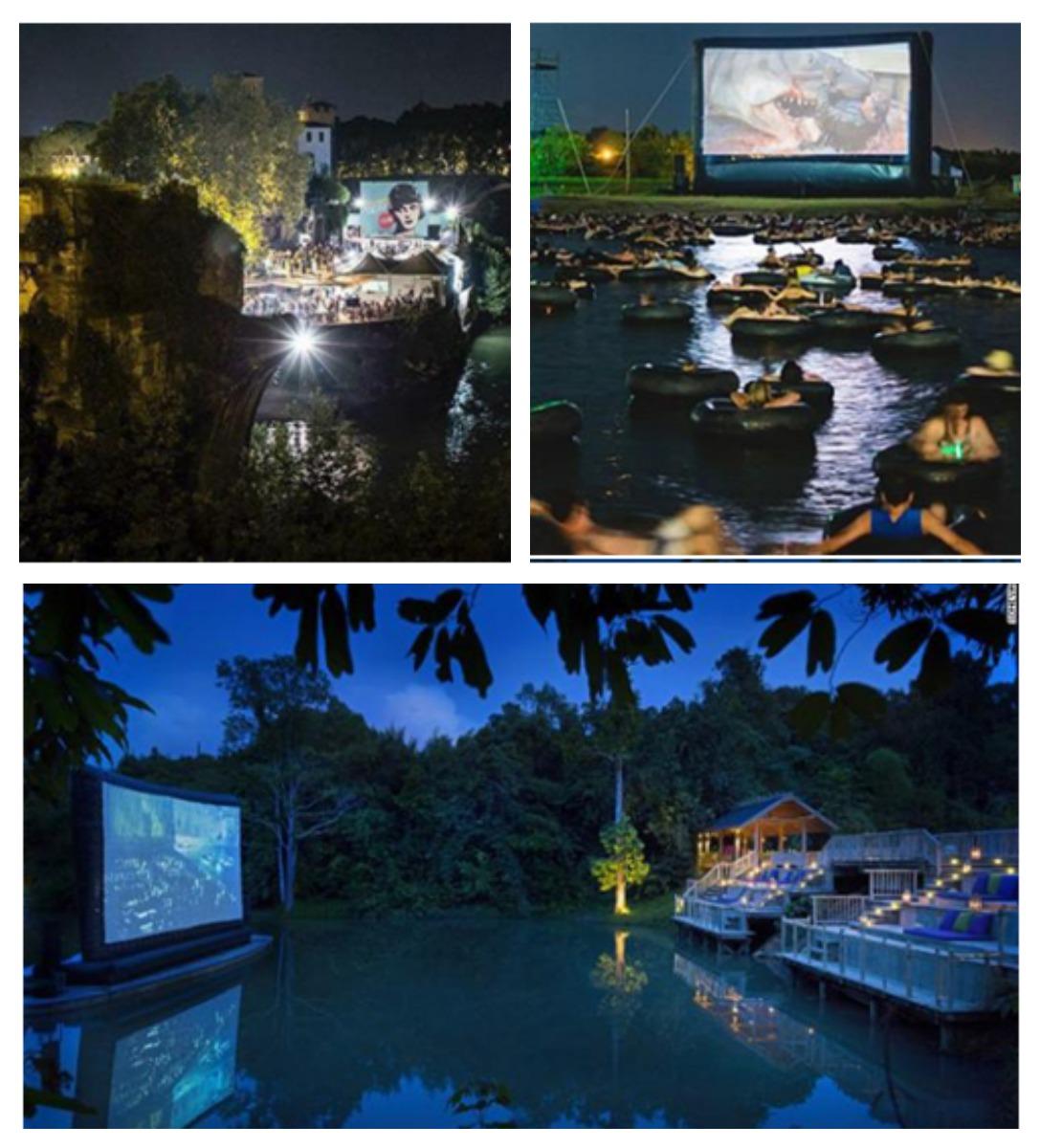 Bioskop Outdoor di Seluruh Dunia