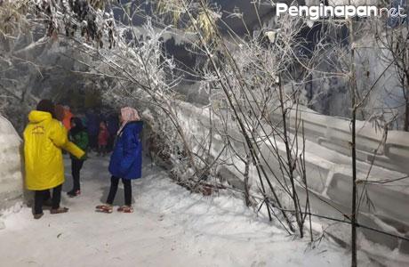 Ingin Rasakan Sensasi Dinginnya Salju Ini Deretan Wahana