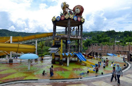 Taman bermain air Bess Resort Waterpark & Convention (sumber: agoda.com)
