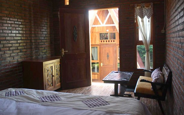 Fasilitas kamar Bliss Family Cottage (sumber: booking.com)