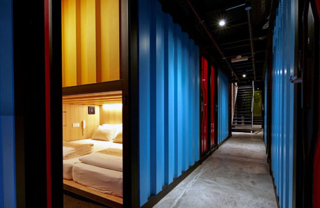"""Capsule"" by Container Hotel (sumber: chgworld.com)"
