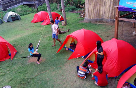 Keramas Beach Camping Ground