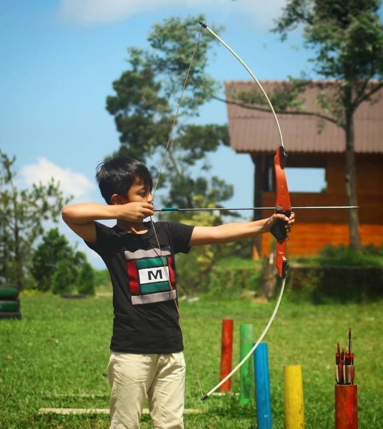 panahan archery umbul sidomukti jawa tengah