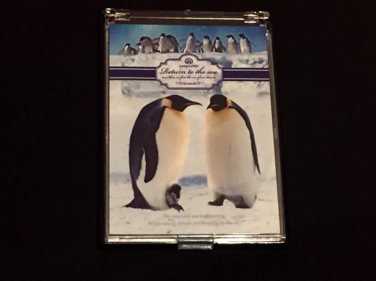 トリックアート迷宮館のお土産<皇帝ペンギンの鏡>