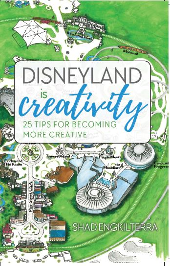 Disneyland Is Creativity cover