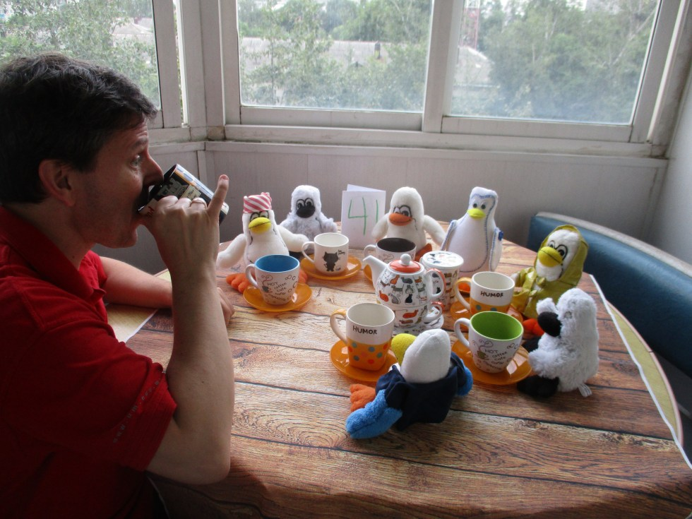 Tea Party with the Penguins