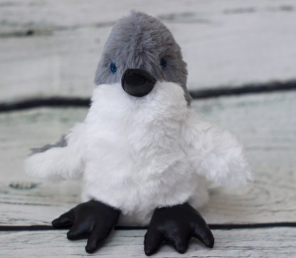 Little Leroy Blue Penguin Plushie Chick