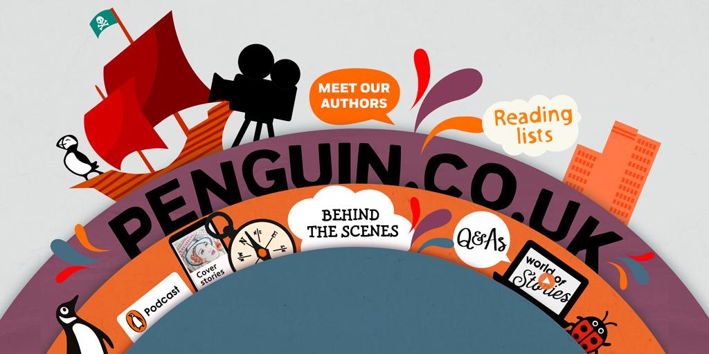 Penguin's New Website