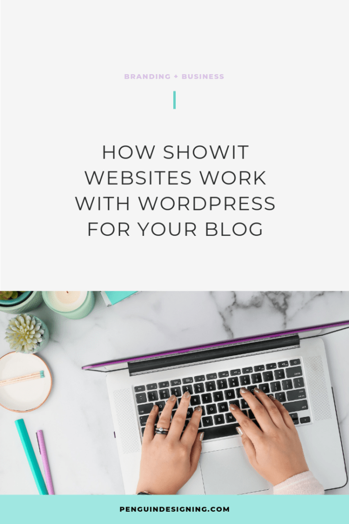 How Showit works with WordPress
