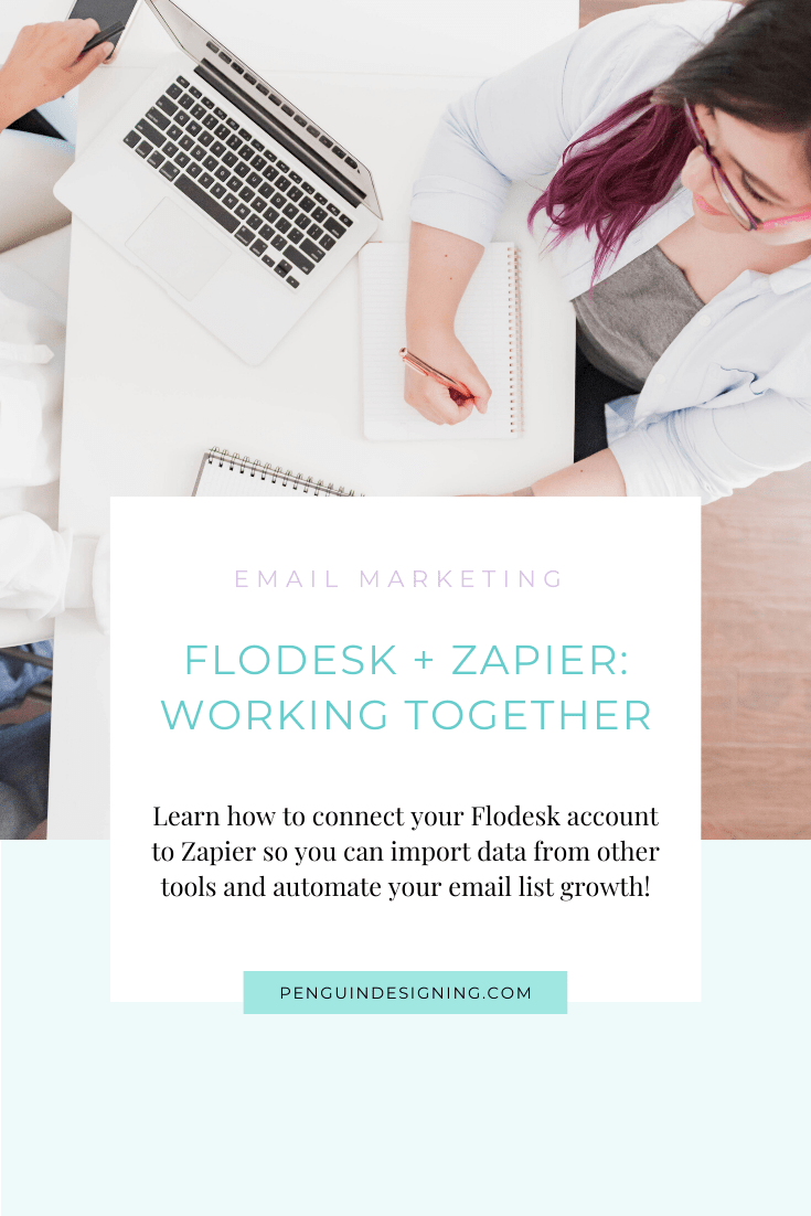 How to connect Flodesk and Zapier integration