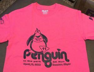 2016 race shirt pink