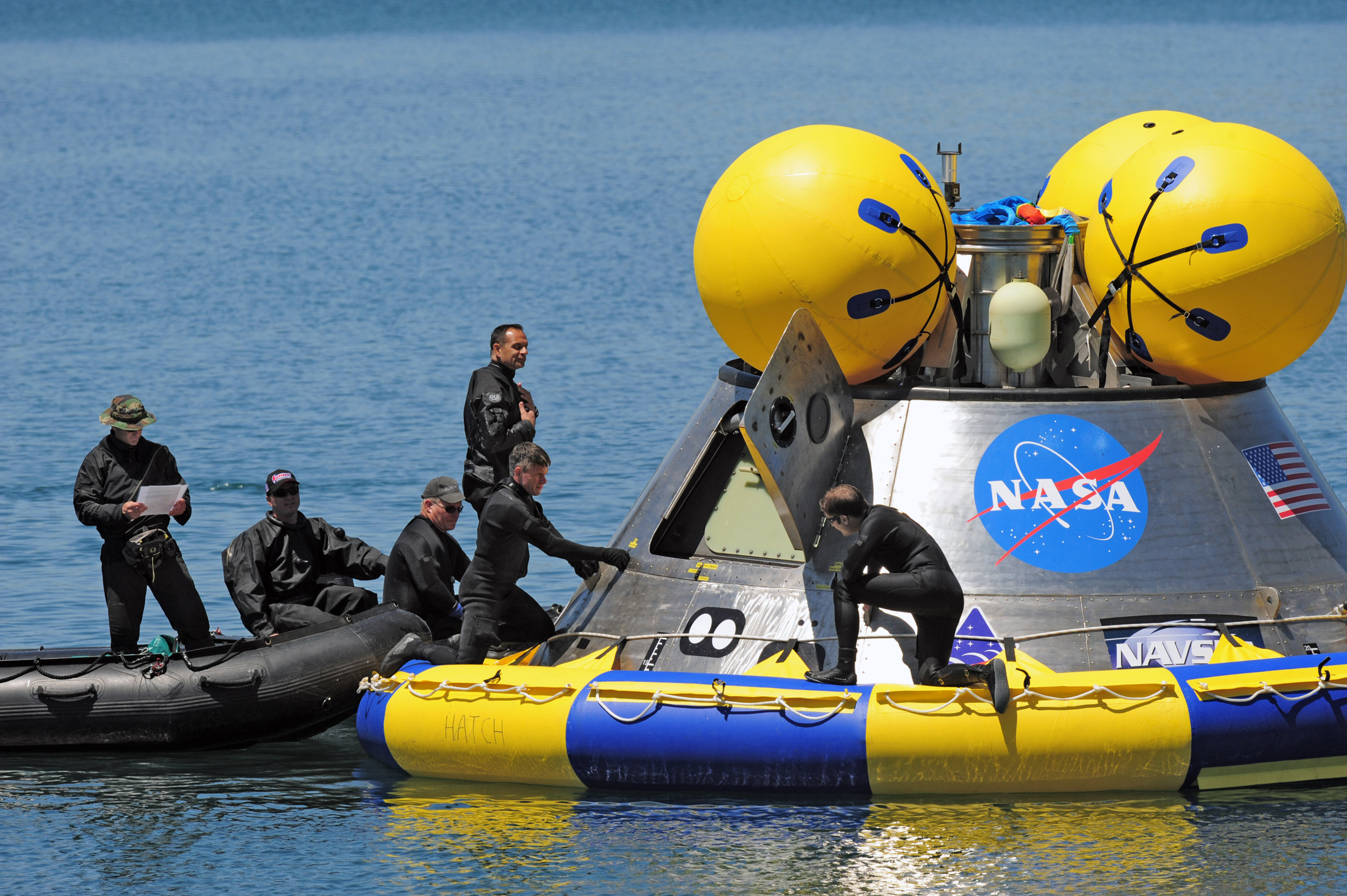 How Do Space Capsules Float On Water