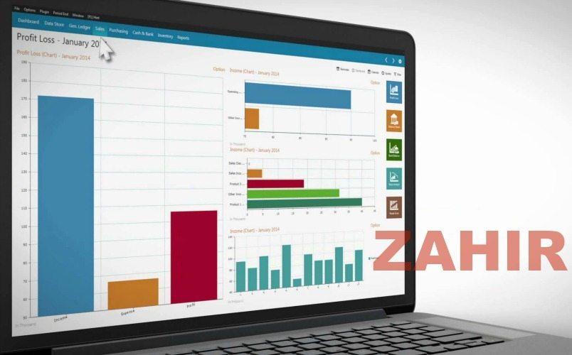 software akuntansi zahir online