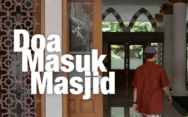 rahasia doa masuk masjid
