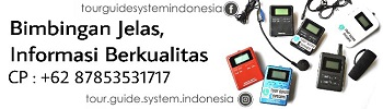 Tour Guide System Indonesia