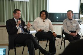 Will Moore, Georgette Gomez, Bruce Coons