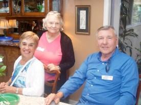 Amie, Ruth and John
