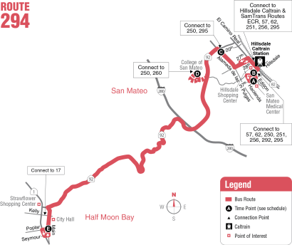Route 294 Map