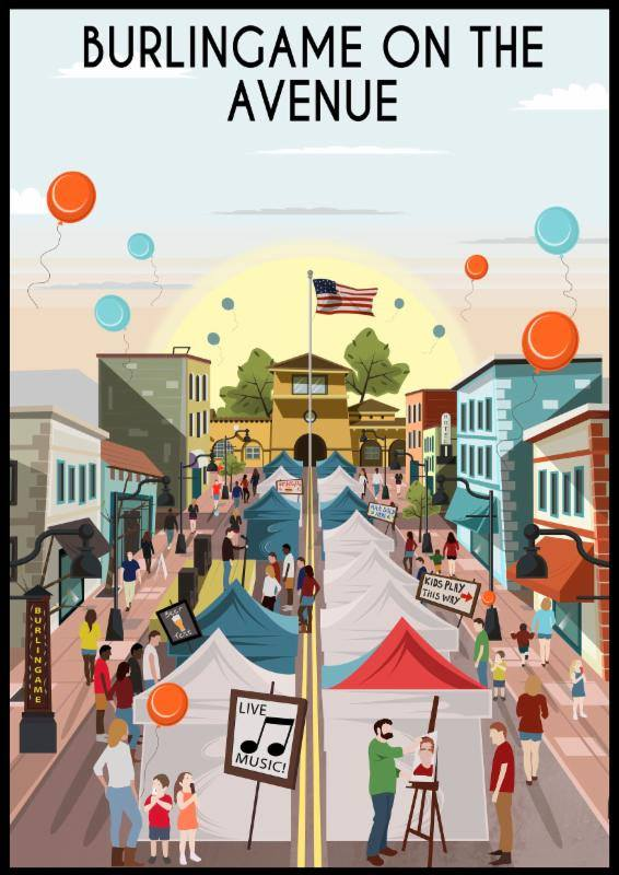 burlingame-on-the-avenue-poster