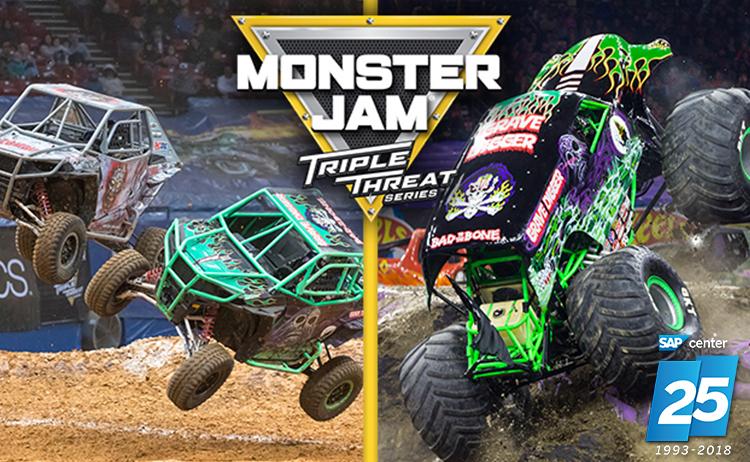 Monster Jam – SAP Center – Peninsula Moves!