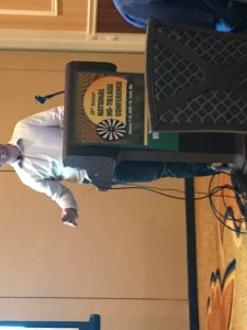 PPF member Aaron Augustian of Augustian Farms presented at the 2019 No-Till Conference.