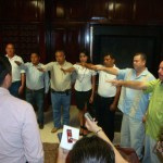Siete nuevos funcionarios ayer rindieron protesta