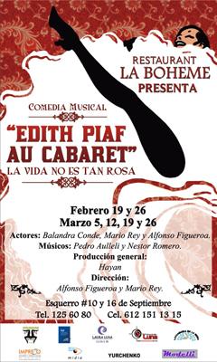 Edith Piaf: Cartel