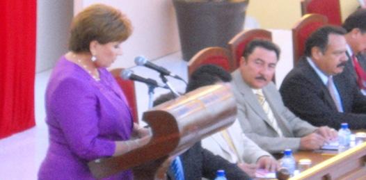 Rindió Rosa Delia II Informe de Gobierno