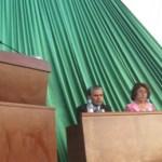 Ante el pueblo que lo eligió para gobernar, José Manuel Murillo Peralta dio su segundo informe de labores (Enrique Montaño).