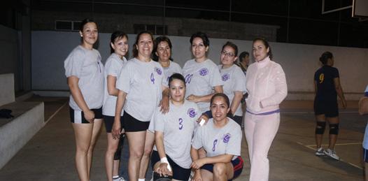 Semifinales del voleibol femenil burocrático