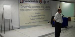 """Culminó el """"Seminario de  Desarrollo Centrado en lo Cultural 'Una alternativa Exitosa Frente a la Crisis Social"""", en el Centro de Convenciones de la Universidad Autónoma de Baja California Sur"""