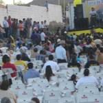 Un promedio de doscientas personas asistió al inició de campaña de Luis Armando Díaz en el municipio de Mulegé, donde se tomó protesta al comité de la LAD (Enrique Montaño).