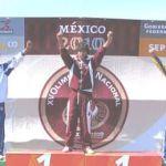 Edna Gabriela Arce Medina, medalla de oro en remo para BCS en la Olimpiada Nacional 2010.
