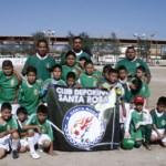 Deportivo Santa Rosa cumplió grata participación en la Copa Fundación de La Paz de futbol.