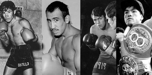 Glorias del boxeo mexicano en el C. Nahl
