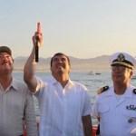 El gobernador Narciso Agúndez dio el disparo de salida a los 38 equipos que participan en la 11ª edición del IGFA OFFSHORE WORLD CHAMPIONSHIP, torneo que ratifica la posición del municipio de Los Cabos como el destino número uno en el país para la pesca deportiva.