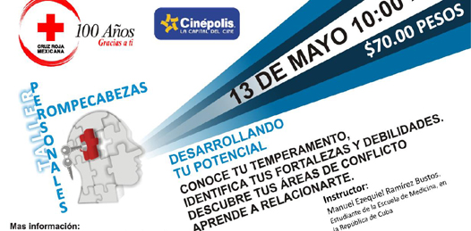 Invita Cruz Roja al taller «Rompecabezas Personales»