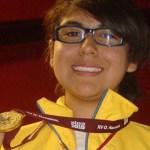 Mariana Castillo Ceseña conquistó la primera medalla de oro en la historia del tiro deportivo en una Olimpiada Nacional.