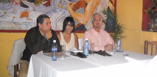 Enrique Patrón de Rueda preparado para la gran gala de ópera en La Paz