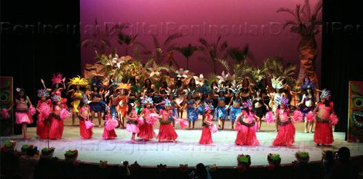 Akilianne danzas polinesias