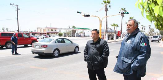 Sincronizarán semáforos en el bulevar Olachea
