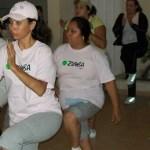 El Sindicato de Burócratas Sección La Paz promueve la activación física mediante la apertura de las clases de Zumba para los trabajadores.