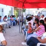 En reunión celebrada en el poblado Villa Morelos, el alcalde hizo el compromiso de apoyar con los trámites ante el Registro Público de la propiedad a los productores de orgánicos