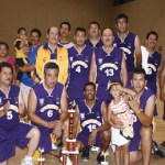 Ayuntamiento se quedó con el campeonato del basquetbol de veteranos de la Liga Calafia.