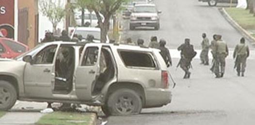 Balacera en Reynosa… y nadie dijo nada