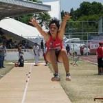 Con sensacional salto de 5.38, Claudia Salgado Mercado se colgó la medalla de oro e impuso nuevo record nacional dentro de la Olimpiada Nacional 2010.
