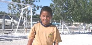 Luis Ramírez de Pumitas, campeón goleador (2002) del torneo de liga en el futbol de la Liga Guillermo Orozco.