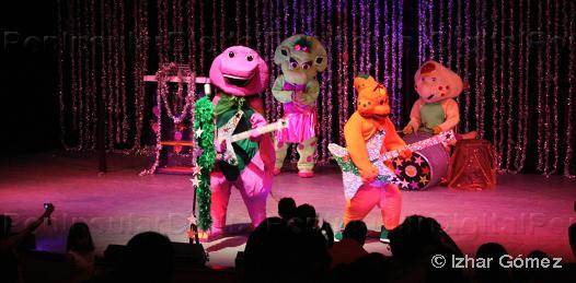 Barney y sus amigos en el Teatro de la Ciudad