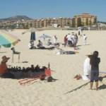 La playa del Médano no ha podido ser certificada como playa limpia ya que para eso se requiere de un millón y medio de pesos, de los cuales el Ayuntamiento solo puede poner una parte (Lupita Gómez)