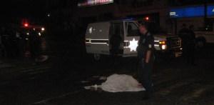 Ramón Ricardo Amador Izabal, murió por traumatismo cráneo encefálico al ser atropellado por el camión urbano.